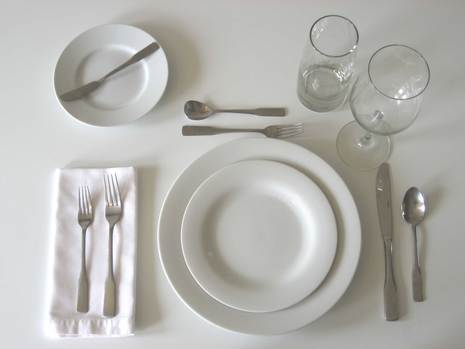 Tip of the Day Properly Setting the Table & Tip of the Day: Properly Setting the Table |