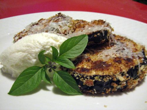 Crispy Baked Eggplant with Ricotta |