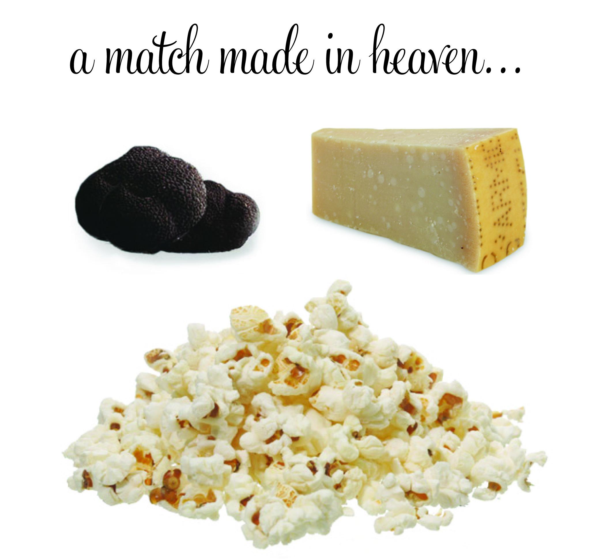 Truffled Parmigiano Popcorn! |