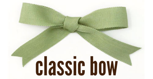 How to tie bows click here for the classic bow ccuart Image collections